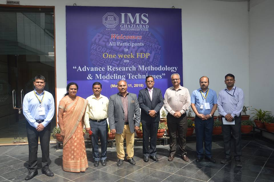 FDP on Advance Research Methodology & Modeling Techniques
