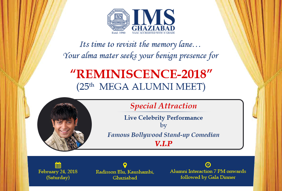 Reminiscence 2018 25th mega alumni meet earnestly awaiting your response and presence on february 24 2018 stopboris Image collections